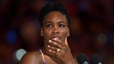 'Heartbroken': Venus Williams was involved in a fatal car crash in Florida.
