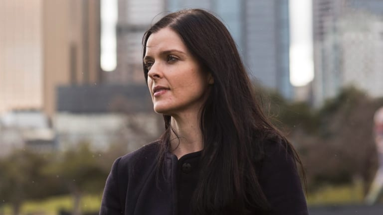 Amber Harrison took on the Seven network.