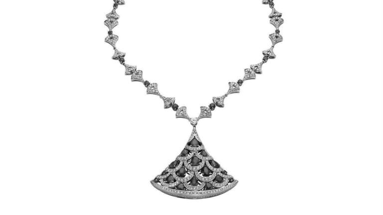Bulgari's $600,000 necklace.