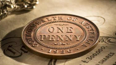 The 1930 penny has a value of $130,000.