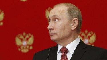 Russian President Vladimir Putin on March 5.