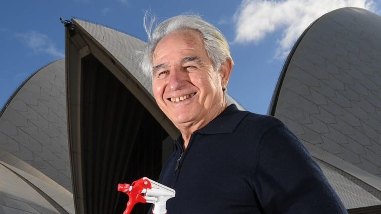 Steve Tsoukalas, who has been working at the Opera House for 49 years, is responsible for the green cleaning revolution at the site.