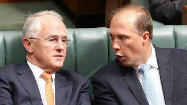 Prime Minister Malcolm Turnbull has supported Immigration Minister Peter Dutton and his remarks on the literacy of refugees.