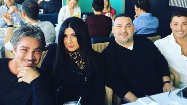 John Ibrahim and his business partner Margaret Staltaro.