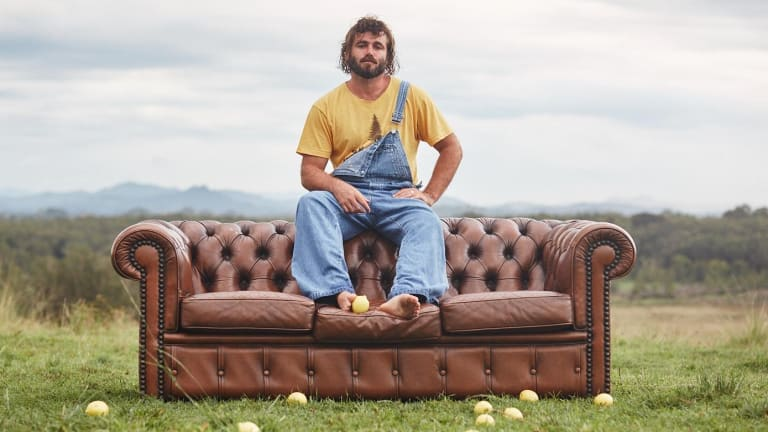 'Good vibes only' is the motto of Angus Stone's new psychedelic rock project, Dope Lemon.