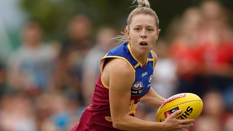 Kate McCarthy kicked the decisive goal for the Lions in the final quarter.