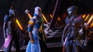 <i>Destiny's</i> good looks and epic space frontier setting have little bearing on the gameplay.