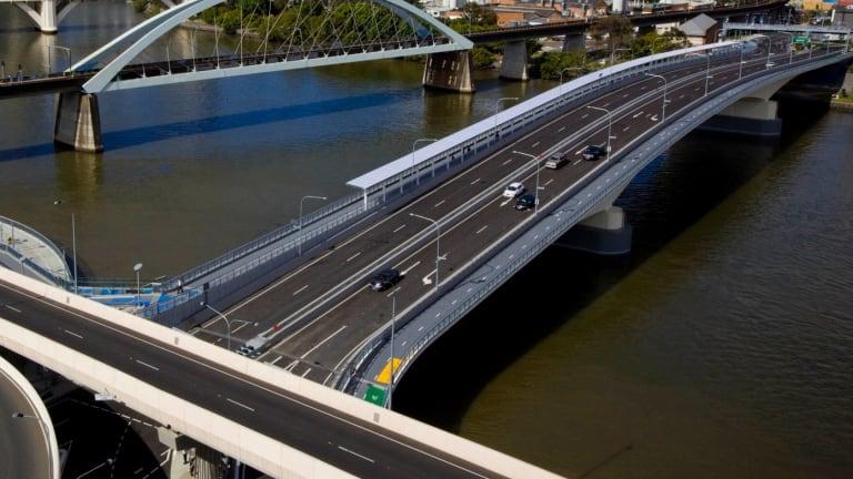 The Go Between Bridge has seen little growth since it opened in 2010.