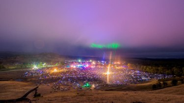 Rainbow Serpent Festival.