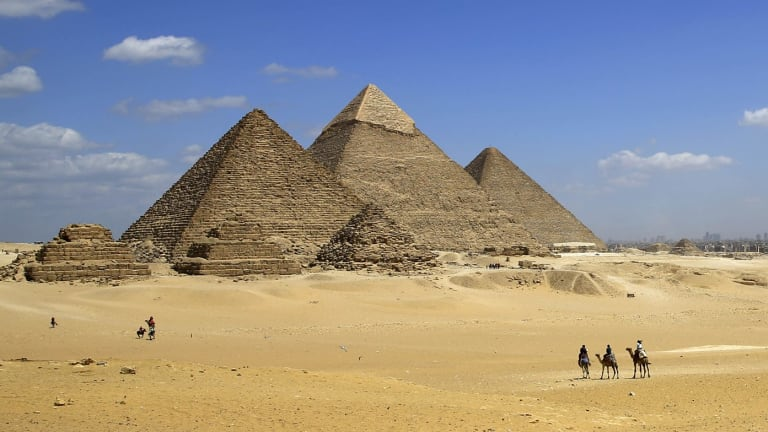 In the 1960s, a team led by Luis Alvarez used muon technology to look for voids in the Pyramid of Khafre, but Alvarez and his colleagues did not examine the Great Pyramid.