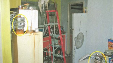 Food left to rot in the home of a Blackburn North woman who refused help from all social services except Meals on Wheels.