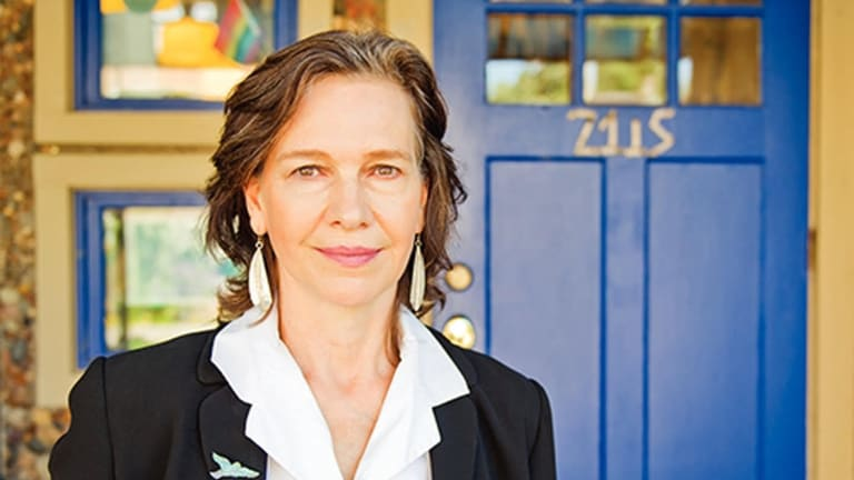 Family takes centre stage: Author Louise Erdrich.