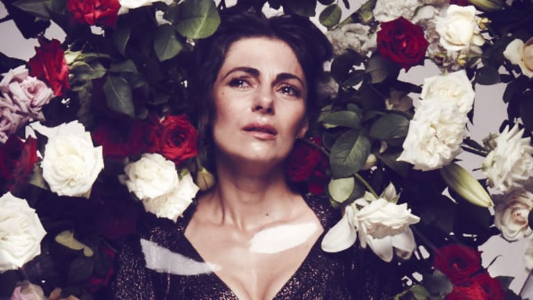Blooming career: Operatic mezzo-soprano Silvia Colloca appearing in Gluck's Orfeo ed Euridice.