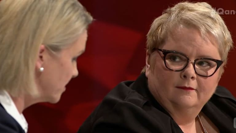 Magda Szubanski asked Fiona Nash a stark and simple question.