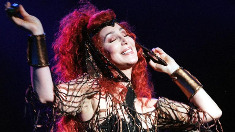 Cher, a leading gay icon, is known for hits such as ''Believe'' and ''If I Could Turn Back Time''.