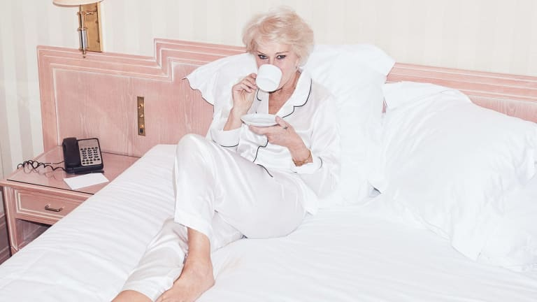 """""""I have absolutely no beauty regimen,"""" says Helen Mirren, the British actress who is now the face of a L'Oreal moisturiser."""