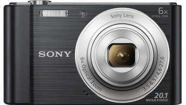 The Sony Cybershot camera is best suited to the unfussy