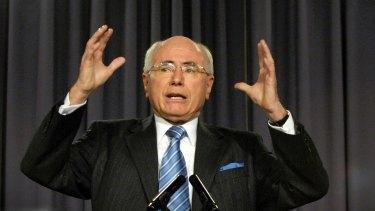 "As Prime Minister John Howard avowed ""Small Government"""