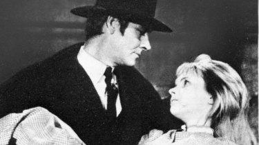 <i>Judex</i> starring Channing Pollock and Edith Scob.