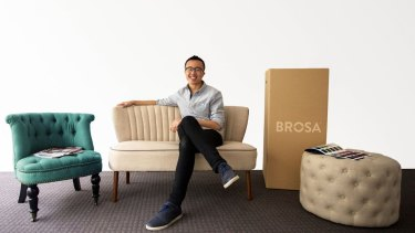 Brosa'a Ivan Lim has raised $2 million for his furniture ecommerce marketplace.