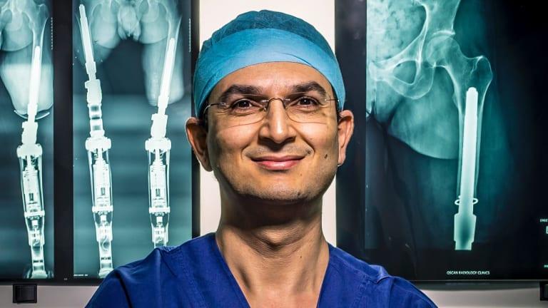 Surgeon Dr Munjed Al Muderis.