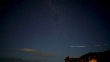 Star qualities ... Indigenous astronomy researcher Duane Hamacher ponders the heavens.