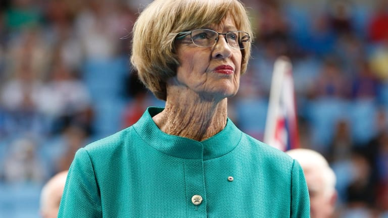 Margaret Court, a devout Christian, was given the pariah treatment.