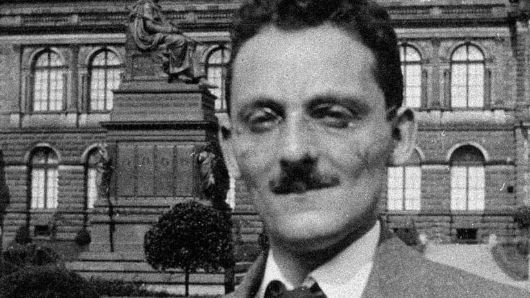 Max Brod, a Czech author and a friend of Franz Kafka's.