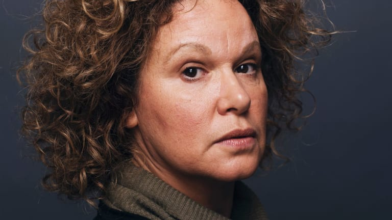 Indigenous Australian actress, director and writer Leah Purcell.