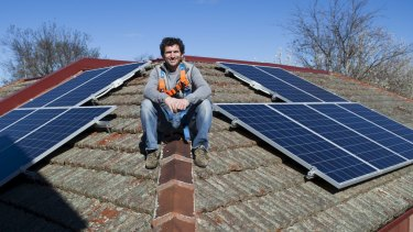 Armada Solar owner Justin Ryan says  his first aim is to help people who had signed up for solar panels with the work yet to be completed