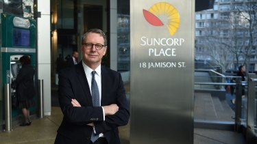 Suncorp Group CEO Michael Cameron.