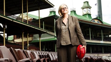 After 10 years at the AFL Commission Sam Mostyn joined the board of the Sydney Swans, which augurs good things for that club.