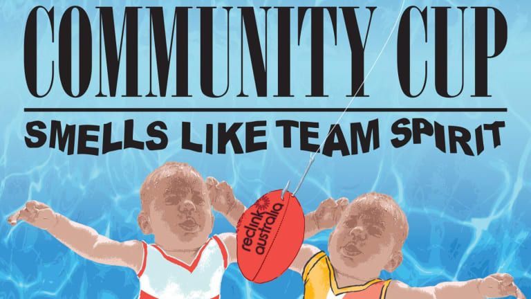 Community Cup – Smells like team spirit pays homage to Nirvana's album Nevermind.