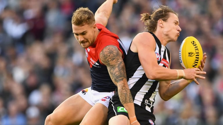 Collingwood has recalled Tom Langdon, who has not played a senior game since last year.