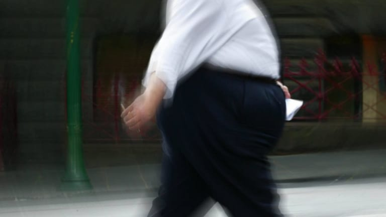 What reduces discrimination against obese employees?
