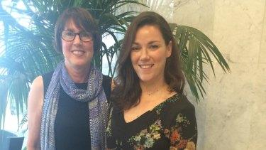 Maureen Van Metter and Jen McDermott.