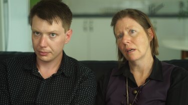 """""""I would like to stop this from happening to anybody else"""": Ben Jago, with his mother Keren."""