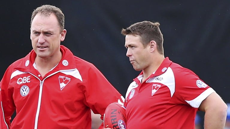 Stuart Dew (right) has been announced as Suns coach.