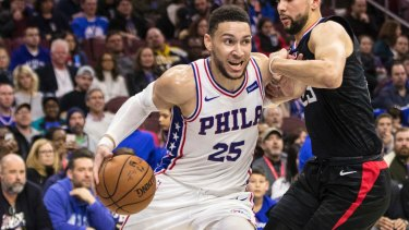 Big shoes: Ben Simmons.