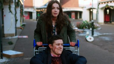 Ella Hunt and Malcolm Cumming in a scene from Anna and the Apocalypse.