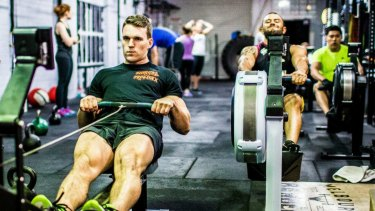 CrossFit is all about challenging yourself in a community of others doing the same.