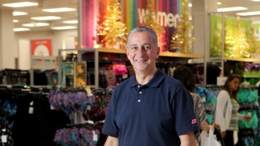Wesfarmers' new department stores boss Guy Russo faces a difficult decision – accelerate Target's existing strategy or come up with a new plan.