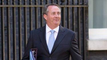 Liam Fox, UK international trade secretary.