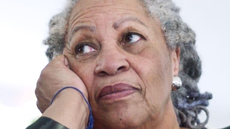 International: Toni Morrison's new novel is The Wrath of Children.