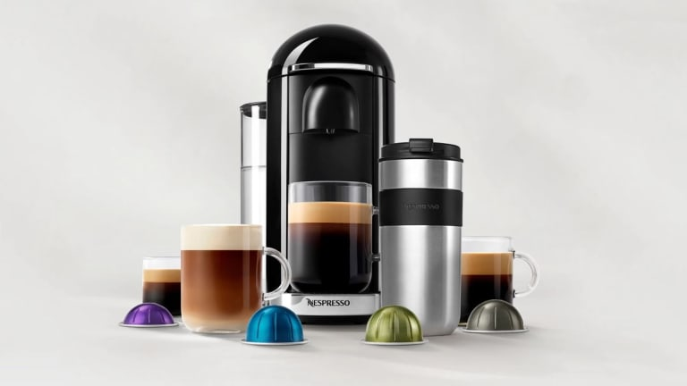 The Vertuo range covers tiny espressos to great big travel mugs.
