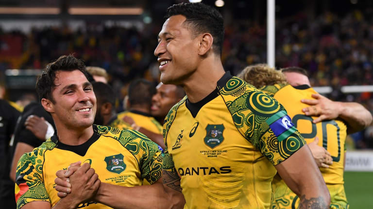 The Land Rover deal means Wallabies stars Nick Phipps and Israel Folau have more to smile about.