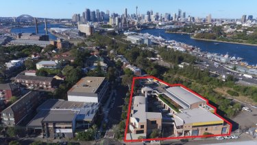The WestConnex proposal includes a plan for the acquisition of a property on Lilyfield Road, Rozelle.