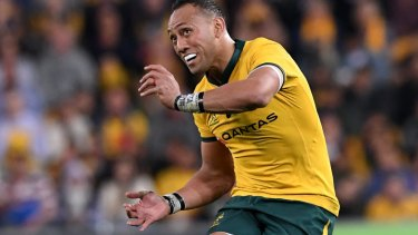 Christian Lealiifano  starred against Argentina in his Test comeback.