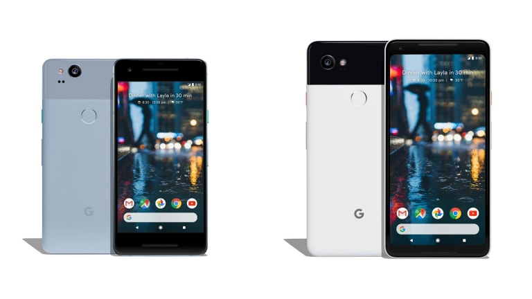 Though they have the same internal specs, the smaller Pixel 2 looks more similar to last year's model.