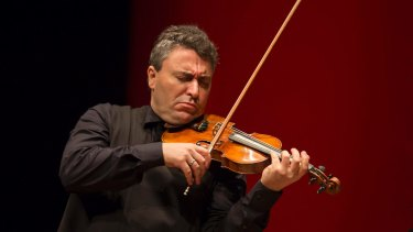 Effortless: Russian violinist Maxim Vengerov.